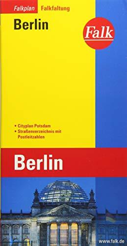 Falkplan Falk-Faltung Berlin mit Cityplan Potsdam
