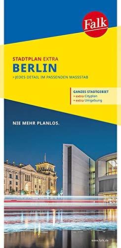 Falk Stadtplan Extra Standardfaltung Berlin mit Cityplan Potsdam: 1:26 500-1:43 500 (Falk Stadtplan Extra Standardfaltung - Deutschland)