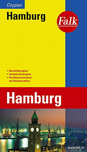 Falk Cityplan Hamburg