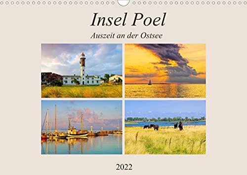 Insel Poel - Auszeit an der Ostsee (Wandkalender 2022 DIN A3 quer)