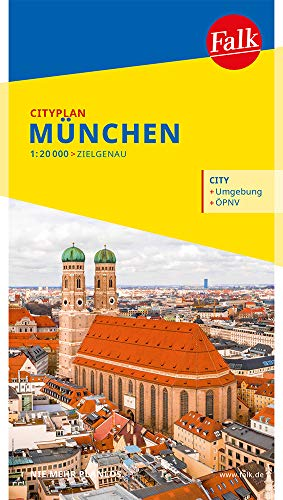 Falk Cityplan München 1:20 000 (Falk Citypläne)