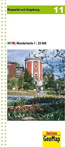 Wanderkarte Nordrhein-Westfalen 11 Wuppertal 1:25 000 (Geo Map)