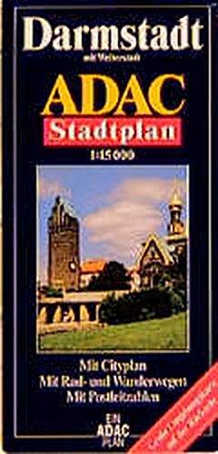 ADAC Stadtpläne, Darmstadt mit Weiterstadt