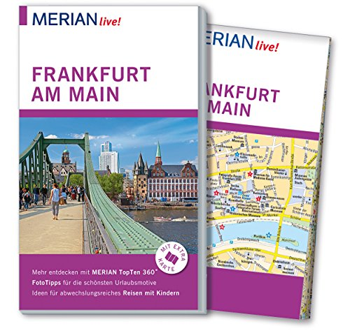 MERIAN live! Reiseführer Frankfurt am Main: Mit Extra-Karte zum Herausnehmen