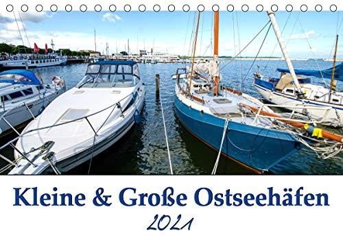 Kleine und Große Ostseehäfen (Tischkalender 2021 DIN A5 quer)