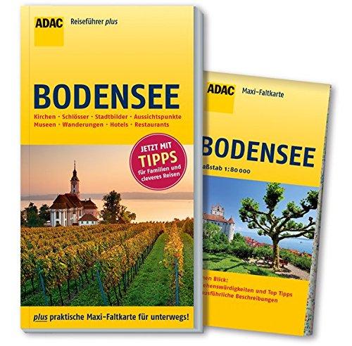 ADAC Reiseführer plus Bodensee: mit Maxi-Faltkarte zum Herausnehmen