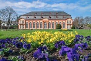 Darmstadt: Orangerie im Stadtteil Bessungen