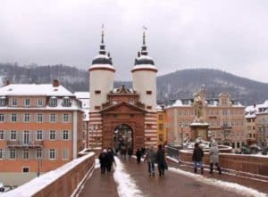 Heidelberg im Winter