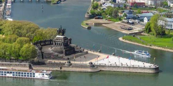 Koblenz – historische Stadt an Mosel und Rhein