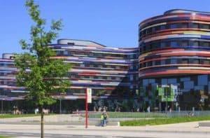 Hamburg Wilhelmsburg - moderne Architektur trifft auf Insel
