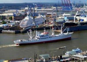 Der Hamburger Hafen - das Tor zur Welt