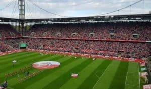 Spiel des 1.FC Köln