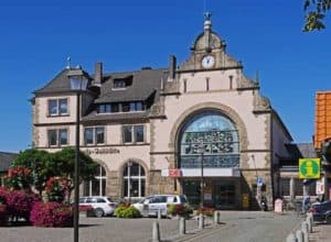 Der Bahnhof in Harzgerode