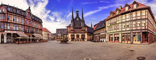 Wernigerode - Die bunte Stadt am Harz