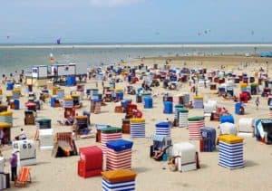 Sandstrand und Meer - das bietet Borkum den Badegästen