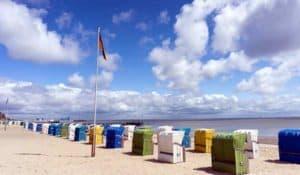 Nordseestrand auf der Insel Föhr
