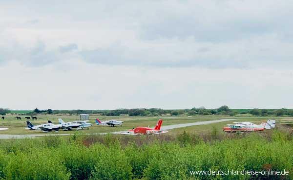 Der Flugplatz auf Langeoog