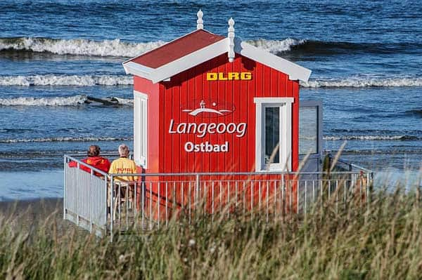 Langeoog Ostbad Strand