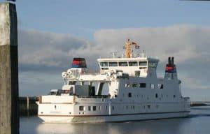 Die Fähre zur Insel Norderney