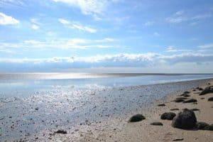 Die Nordsee an der Insel Pellworm