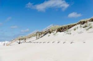 Insel Sylt - Sandstrand Westerland