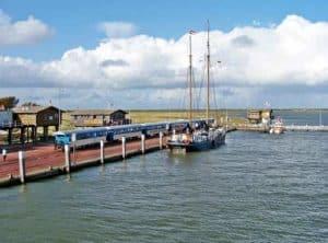 Wangerooge - Bahn und Hafen