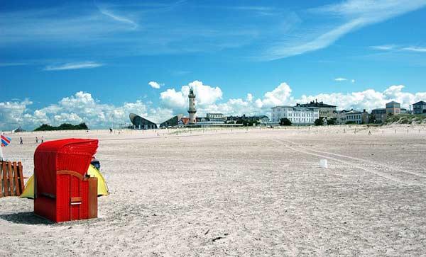 Der Strand von Warnemünde - ein Traum für jeden Ostseeurlauber