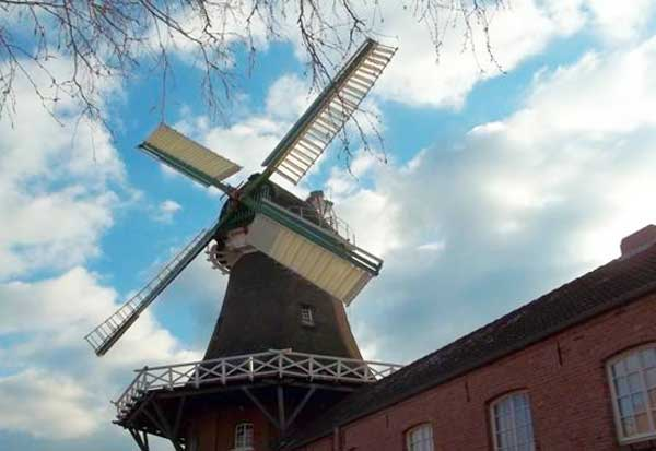 Die Mühle in Wiegboldsbur