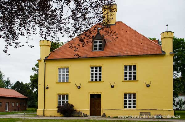 Das Jagdschloss in Groß Schönebeck