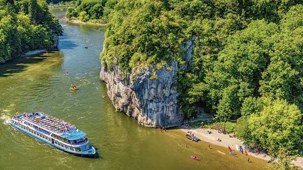 Die Donau in Bayern