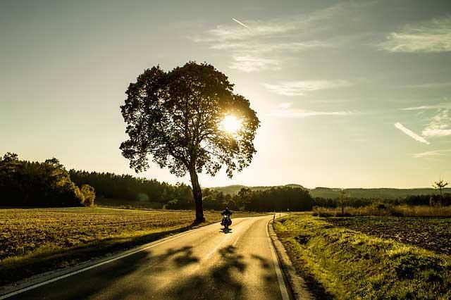 Mit dem Motorrad durch Deutschland