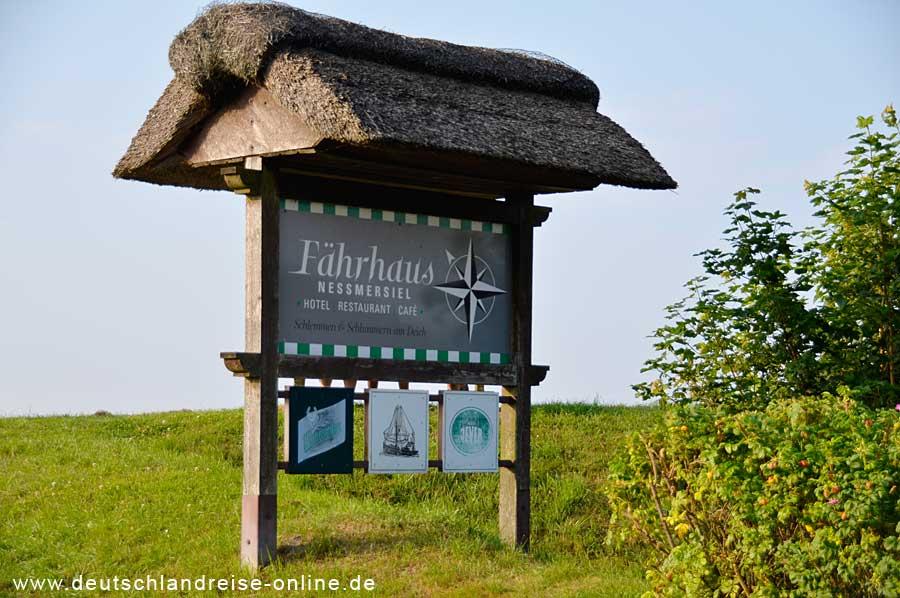 Altes Fährhaus Nessmersiel © Deutschlandreise
