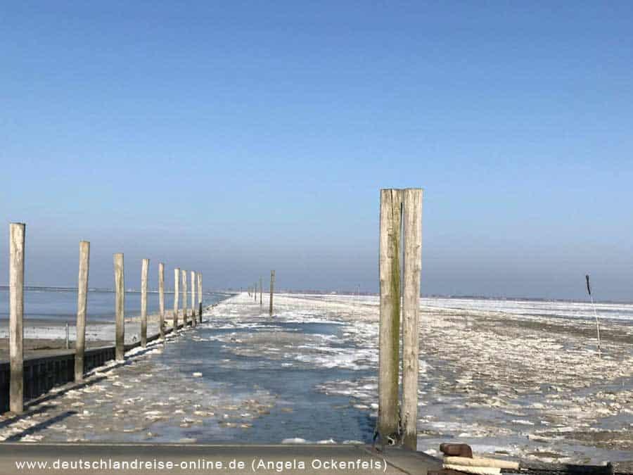 Neßmersiel im Winter © Deutschlandreise Angela Ockenfels