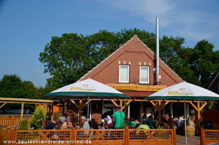 Neßemersiel Pizzeria bei Angelo © Deutschlandreise