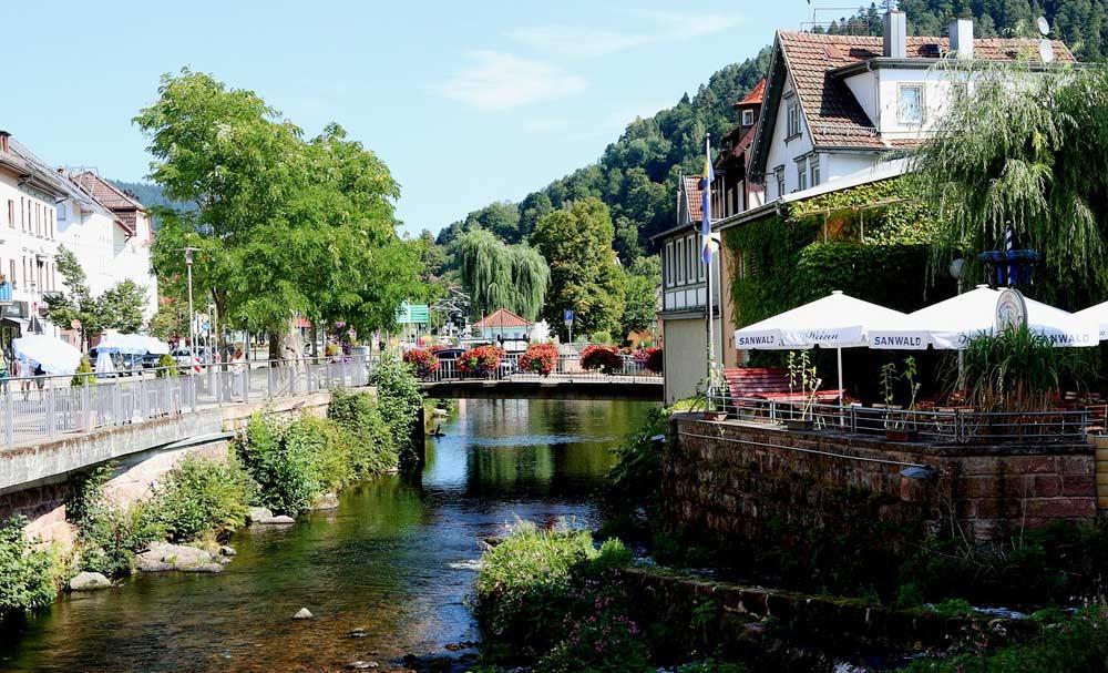 Bad Wildbach im Schwarzwald