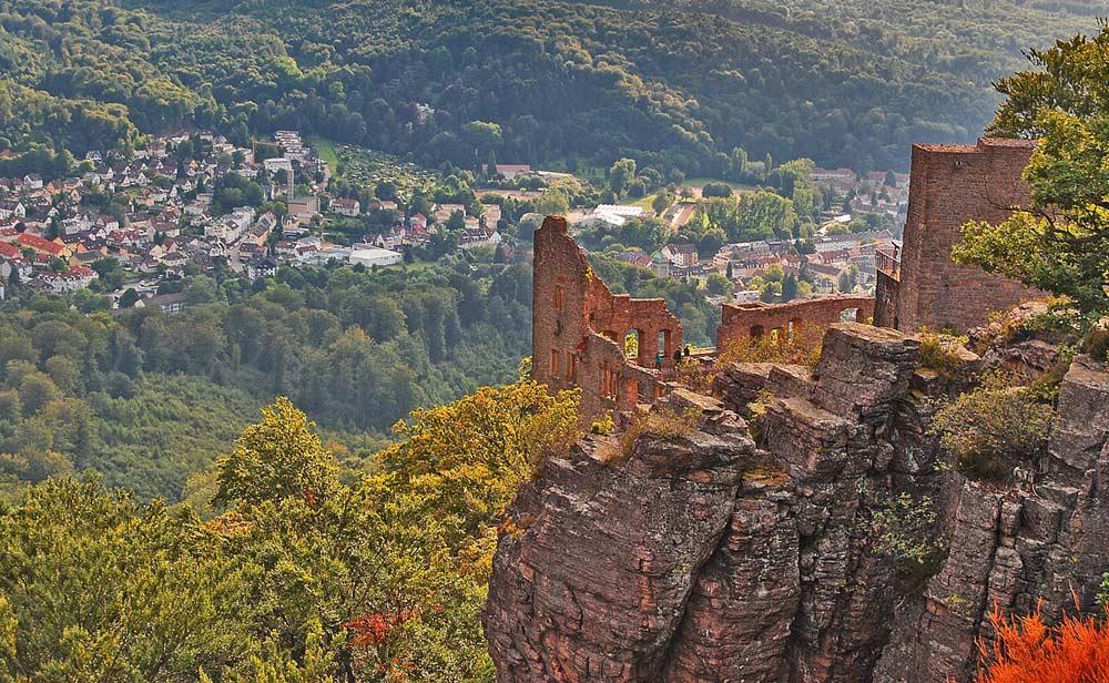 Burg Hohenbaden bei Baden-Baden