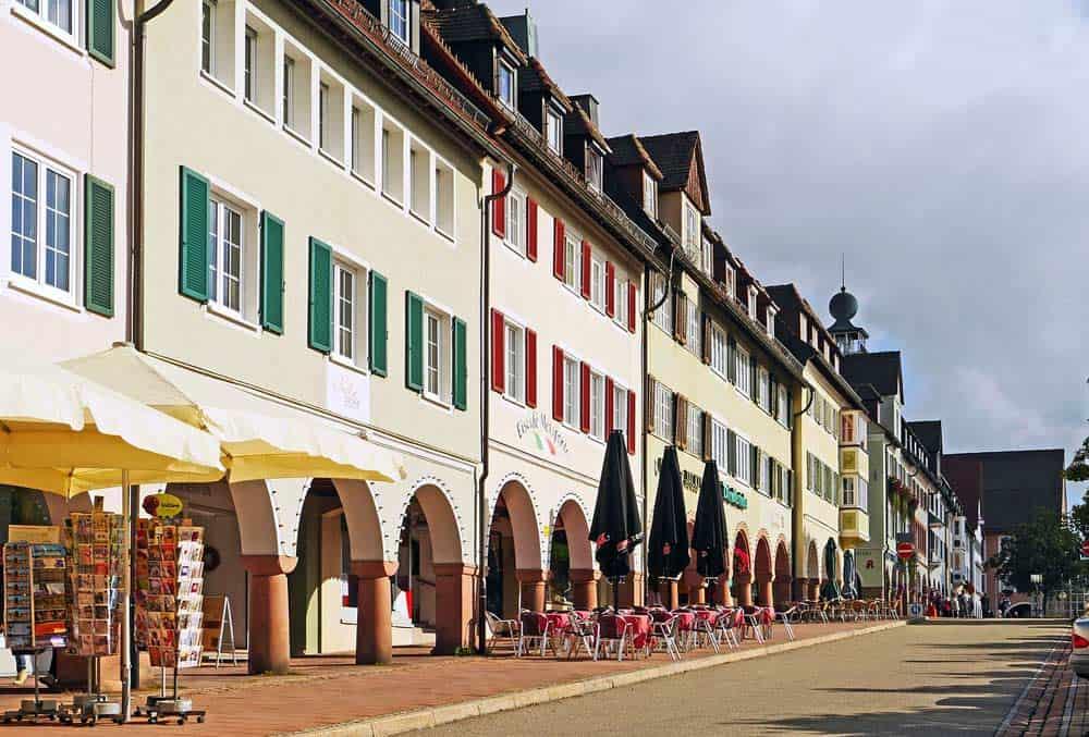 Historischer Marktplatz von Freudenstadt