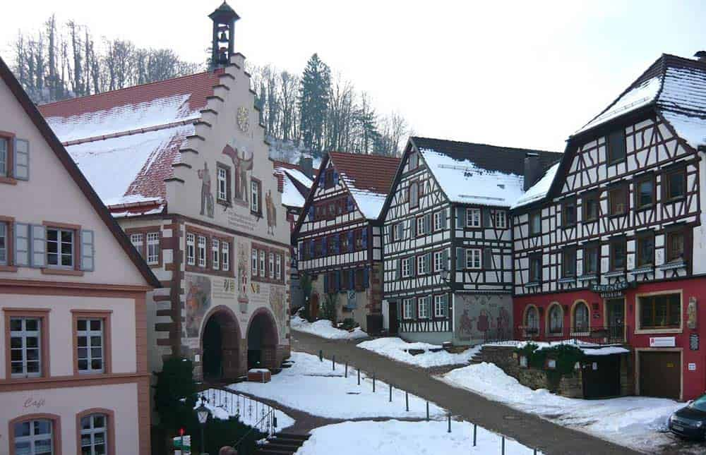 Schiltach im Winter