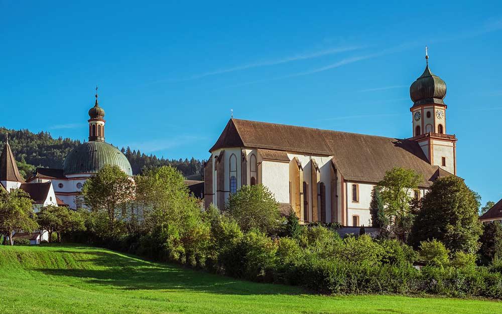 Benediktinerkloster im Schwarzwald Münstertal
