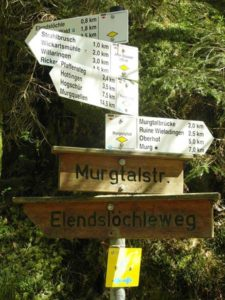 Wanderruten im Murgtal Schwarzwald
