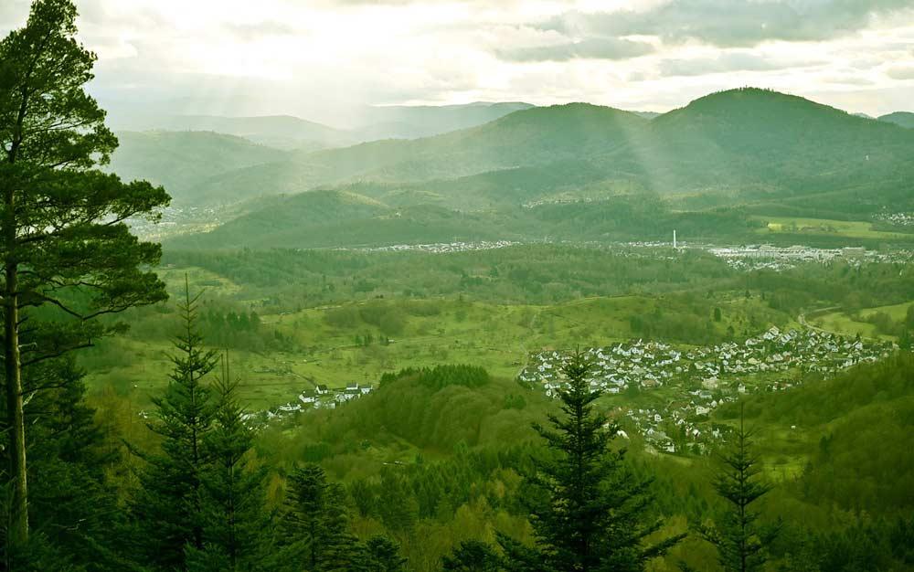 Das Murgtal im Schwarzwald - ein Wanderparadies