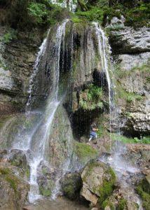 Wasserfall Schluchtensteing im Schwarzwald