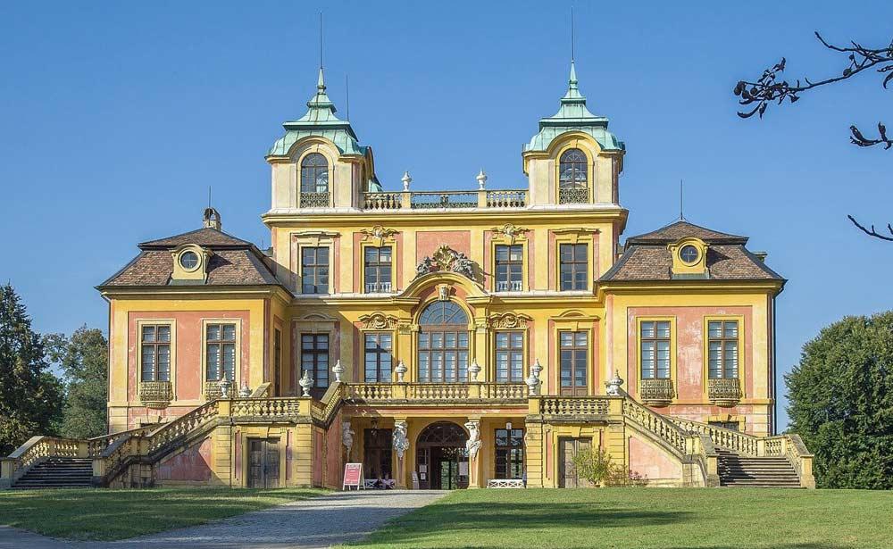 Ludwigsburg mit Schloss - Blühendes Barock