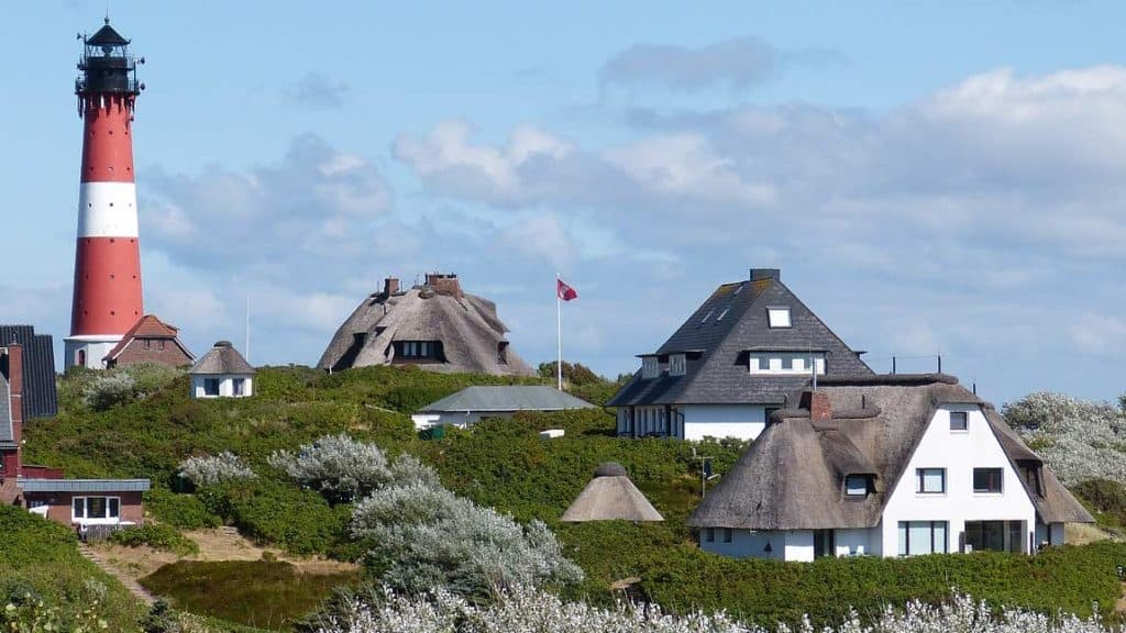 Leuchtturm der Insel Sylt